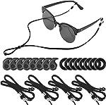 4Packs Eye Glasses Straps Sunglasses String Holder for Sports, Anti-slip Eyeglass