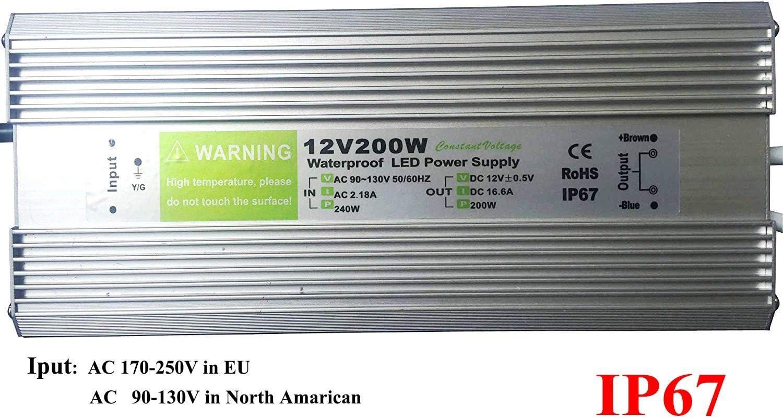 ip67 psv-60-12 DEL Transformateur//Alimentation 12v//dc tension constante 5 A 60 W étanche
