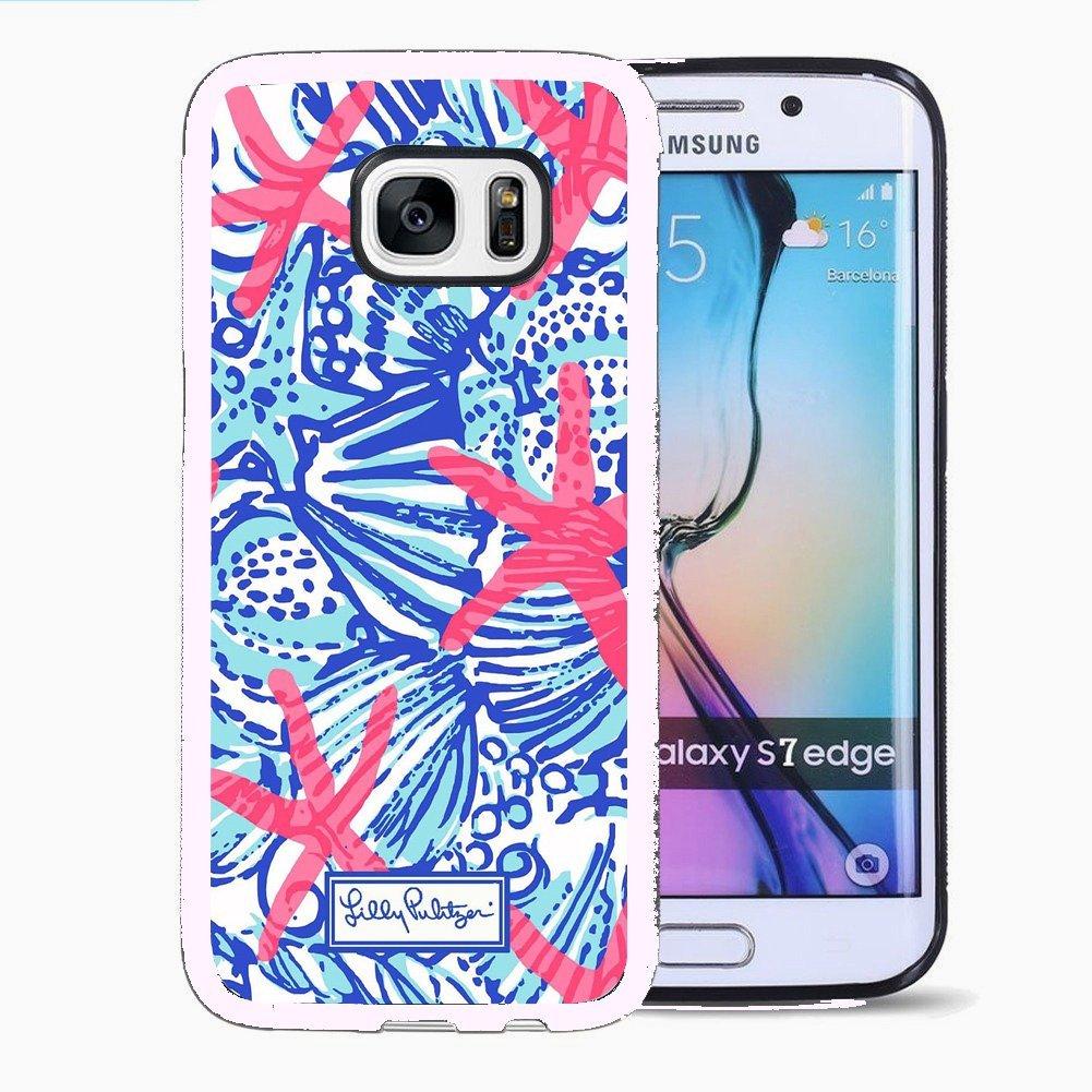 buy popular 8dd45 11121 Eocy Custom Samsung Galaxy S7 Edge TPU Phone Case, Lilly Pulitzer 26 ...