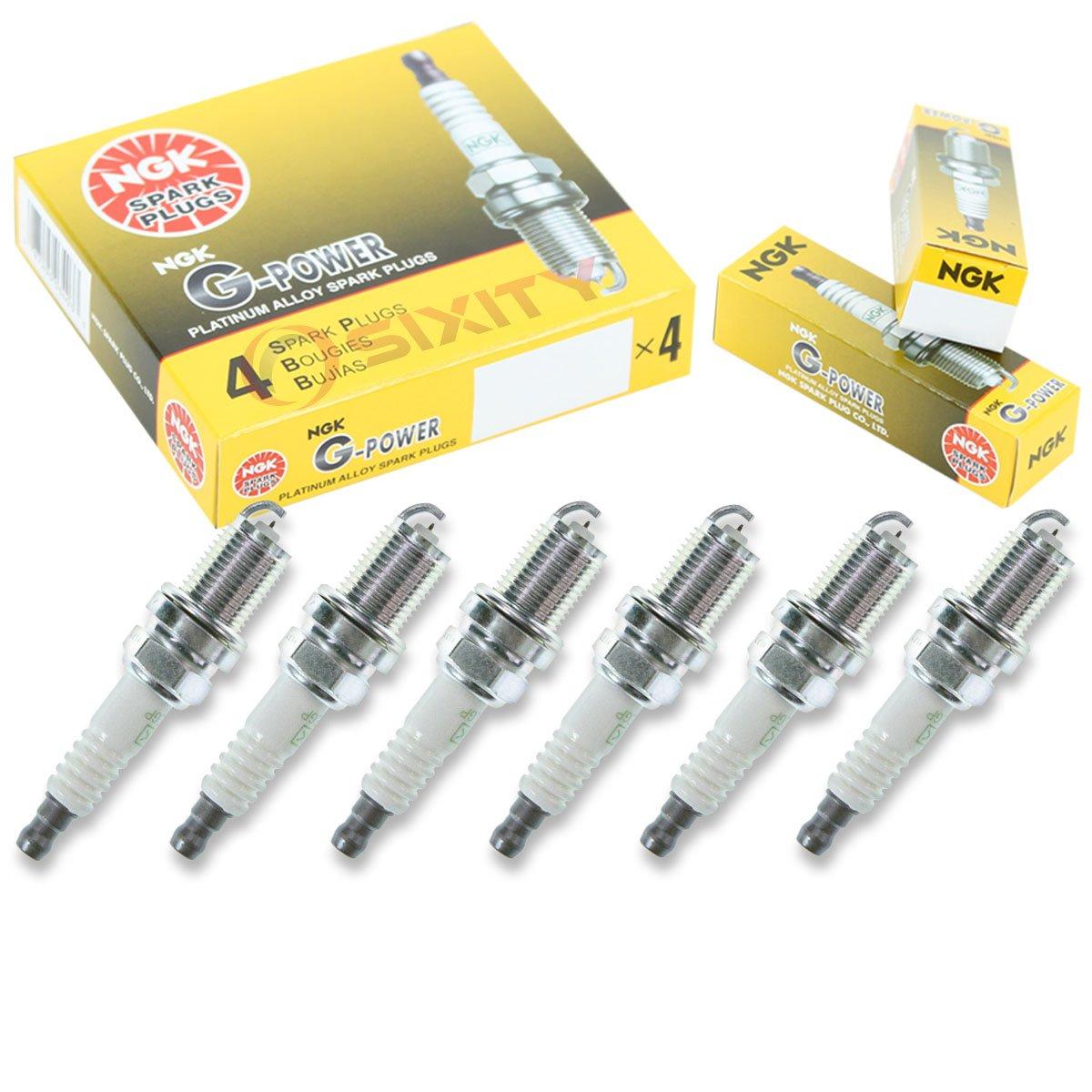 Amazon.com: NGK G-Power 6pcs Spark Plugs Audi A4 Quattro 96-04 2.8L 3.0L V6 Kit Set Tune: Automotive