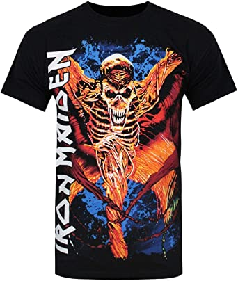Official Hombres Iron Maiden - Camiseta: Amazon.es: Ropa y accesorios