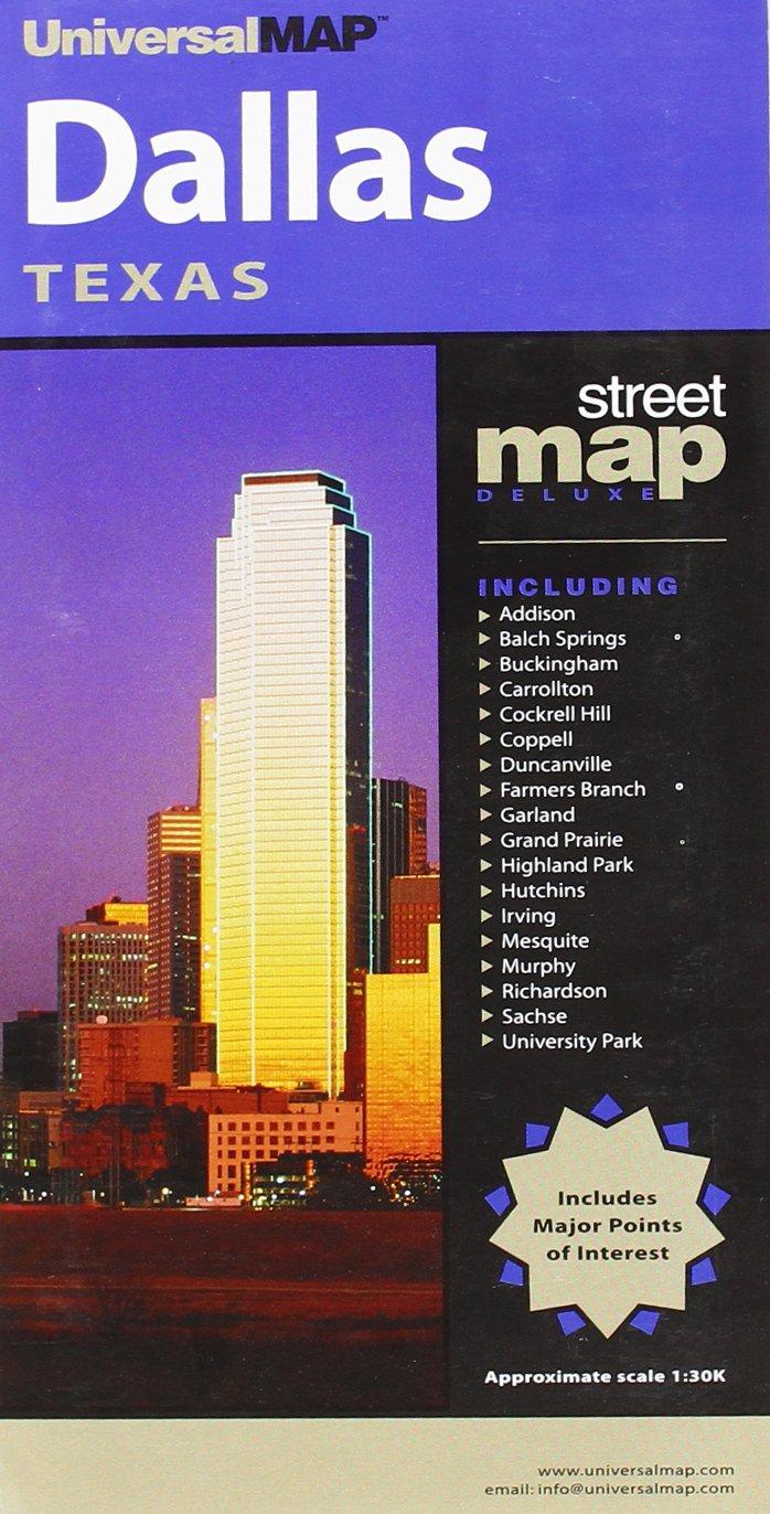 Dallas City Map: Greater: 9780762534678: Amazon.com: Books