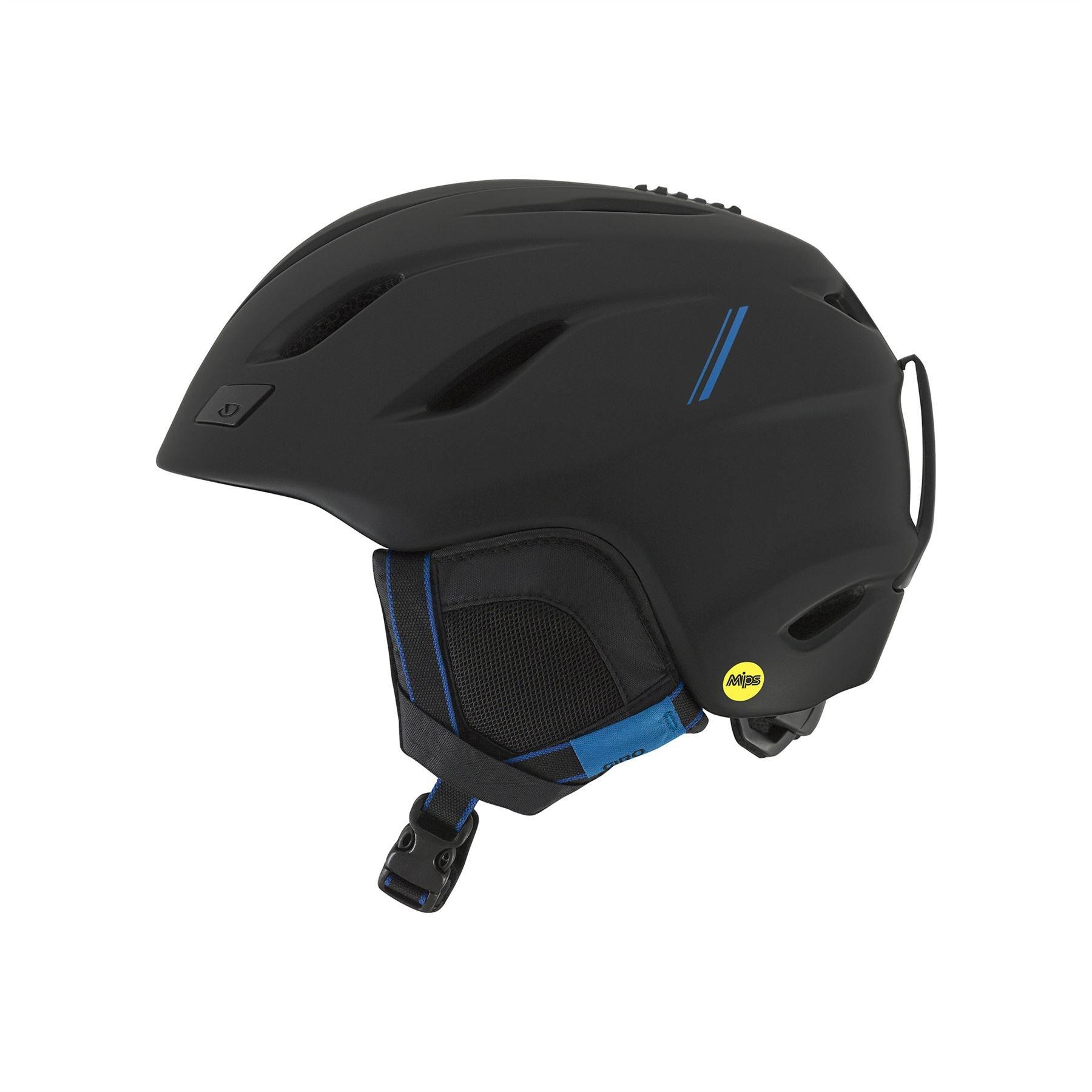 Giro Nine MIPS Snow Helmet Matte Black/Blue Sport Tech Medium