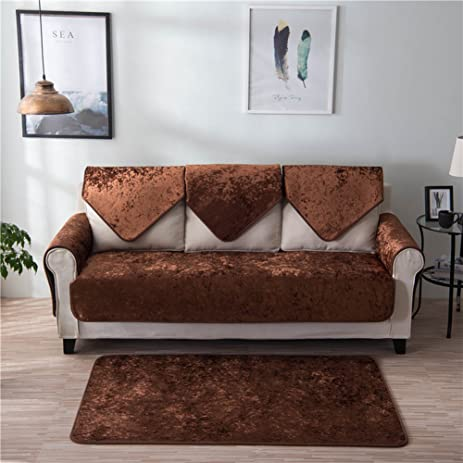 Forcheer Sofa Mats Non Slip Cushion Seat Cover Multi Size Available Sofa  Shield Couch Furniture