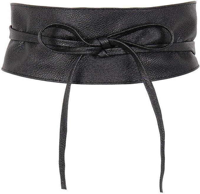 taglia unica diversi colori disponibili MYB Cintura fusciacca donna in similpelle regolabile