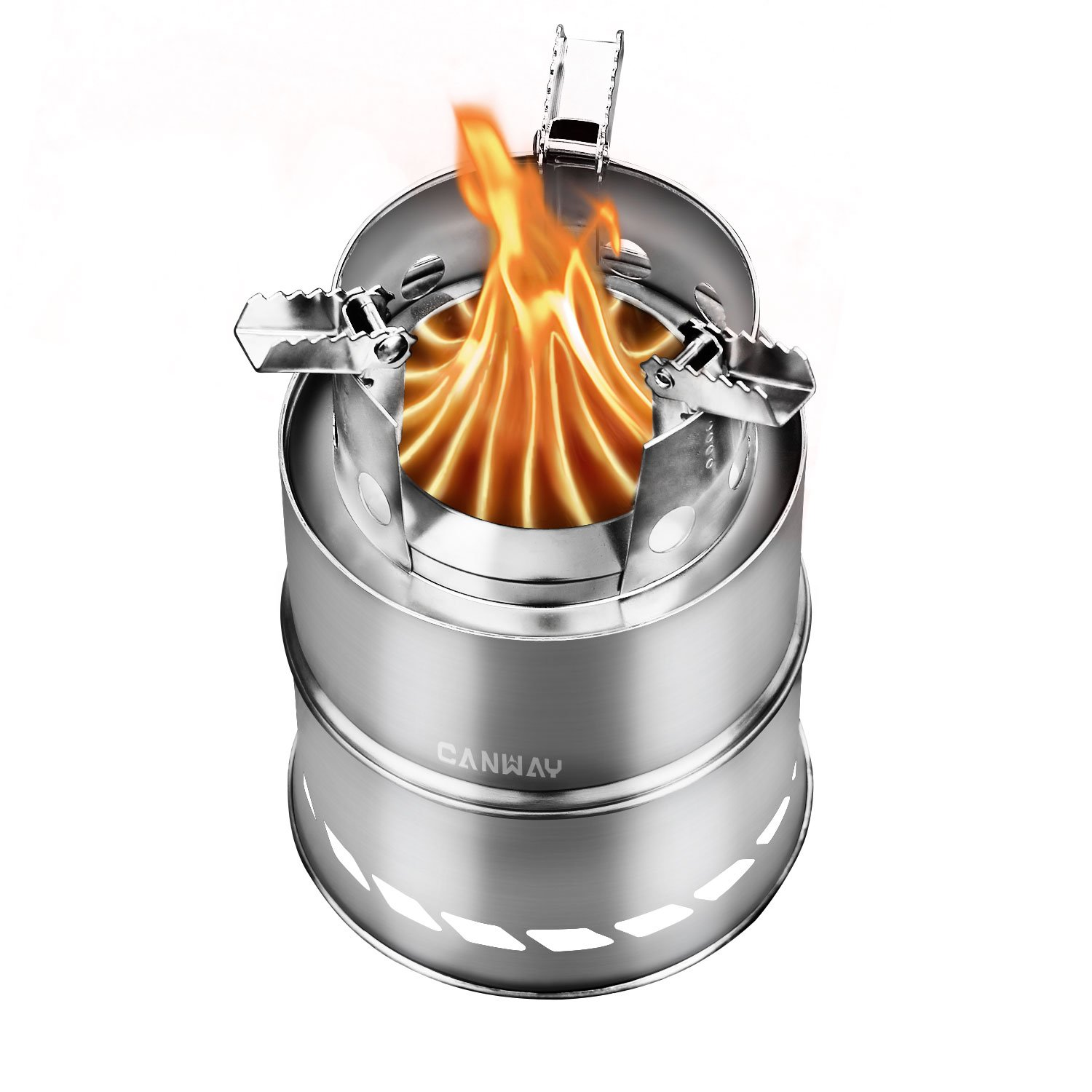 Canway Wood Burning Stove Stainless Steel Camping Stove Ebay