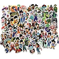 Lot de 100 autocollants pour valise de bagage Motif animé Dragon Ball Z◕DBZ