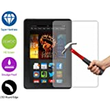 For Amazon Kindle Fire HDX 7 (7 inches 2014) Screen Protector ZeWoo® Premium Tempered Glass Protection Film (9H * 2.5D, 0.33mm thick)