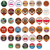 Flavored Coffee Single Serve Cups for Keurig K Cup Brewers Variety Pack Sampler 40 Count (Version 1)