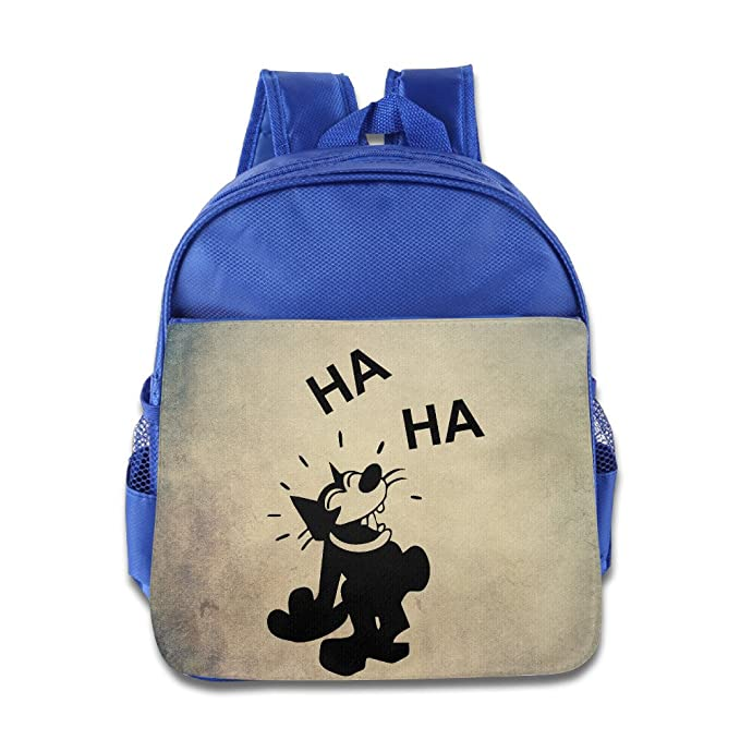 eb732b1fc284 Quasi Felix The Cat 12 Cartoon Custom Children Kids Girls Boys Baby School  Bags Book Bags Backpack  Amazon.ca  Clothing   Accessories