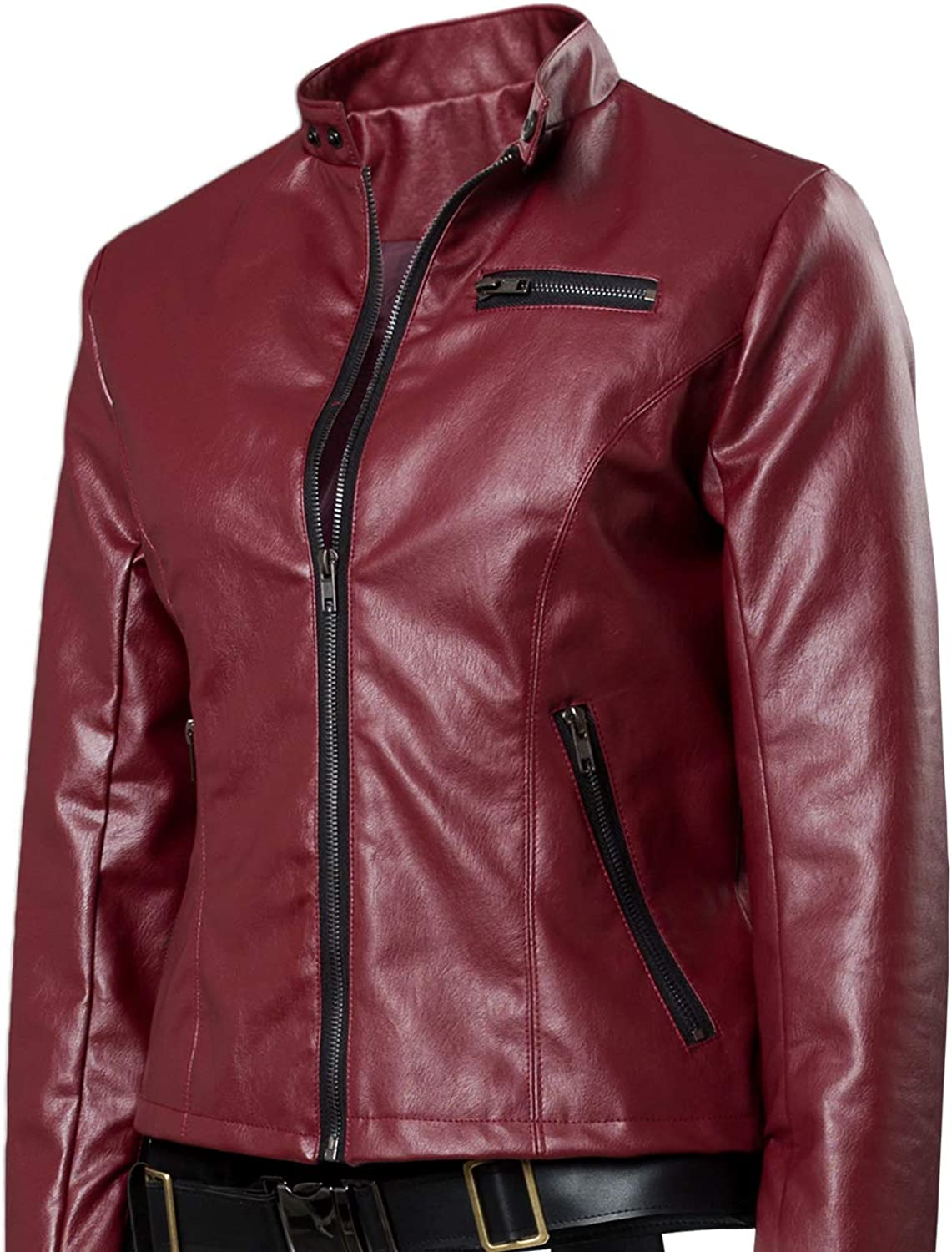 Resident Evil 2 Remake Claire Redfield Giacca Cosplay Costume Donna