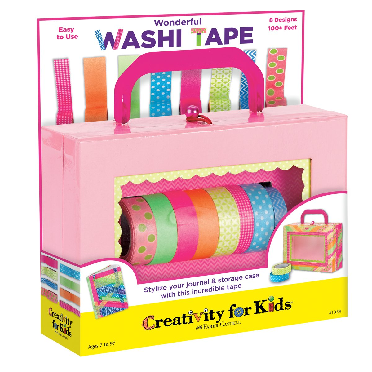 Creativity for Kids - Wonderful Washi Tape Faber-Castell 1359000