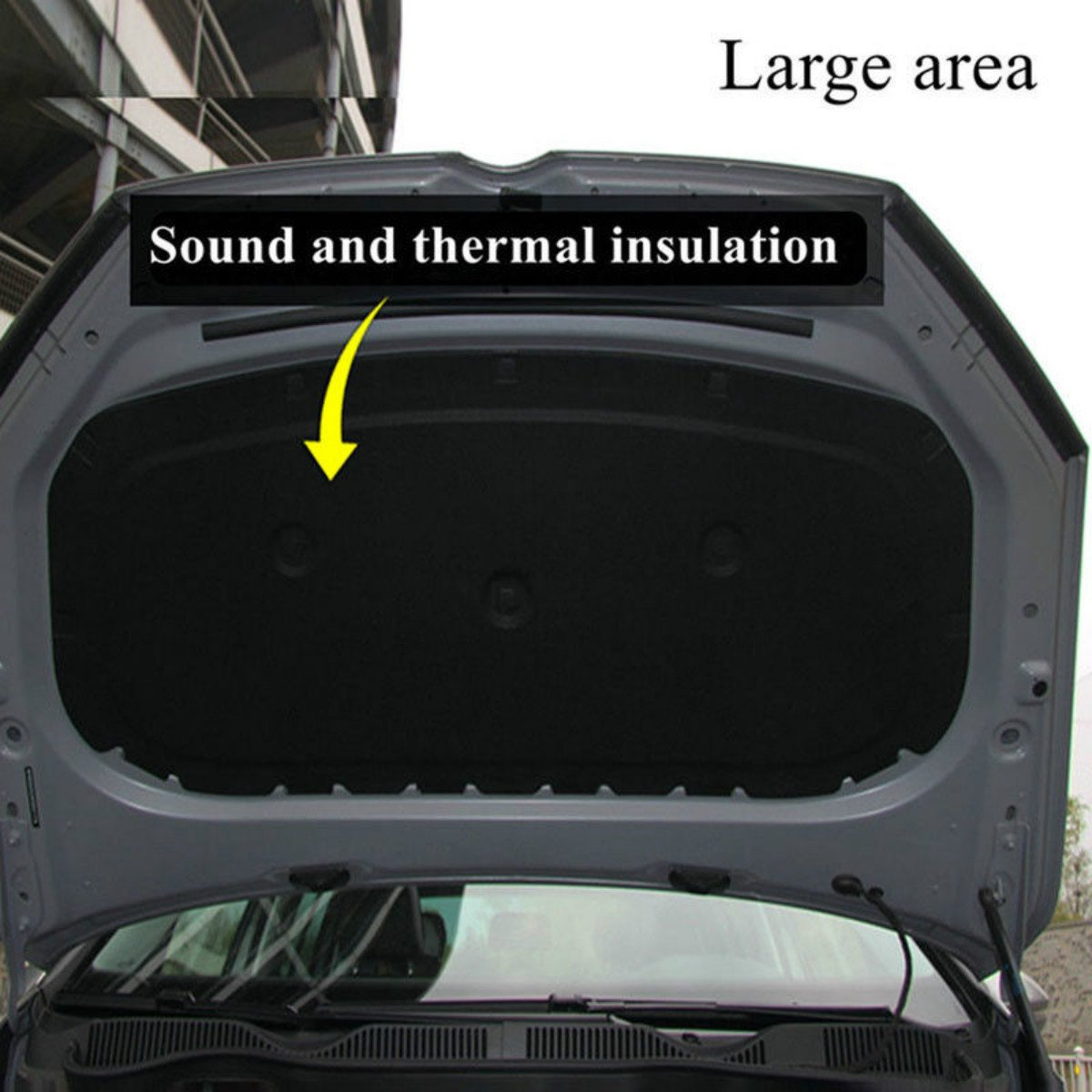 Jeteven 1m x 50cm High Density Foam Rubber Padding Roll Self Closed Cell Foam Waterproof Soundproof Insulation Thermal Foam Car Sound Deadening Mat 1m by Jeteven (Image #4)