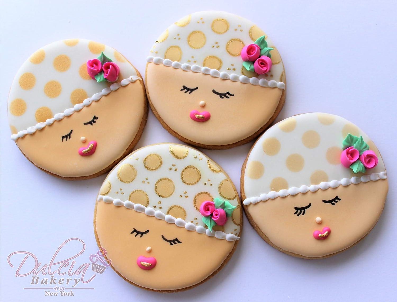 Circle Bubble Round Shape Cookie Cutter Dough Biscuit Pastry Fondant Sharp SL
