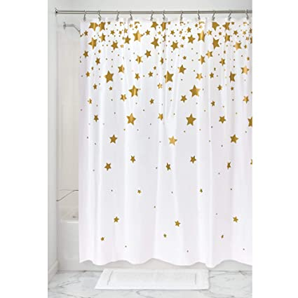 Amazon InterDesign PEVA Bathroom Shower Curtain 72 X Inch