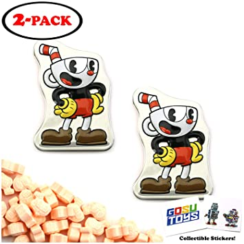 Amazon com : CupHead Tin Candy Sours (2 Pack) Orange Flavor Gift