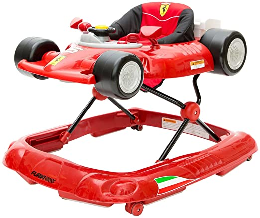 Combi Ferrari F1 Baby Walker, Red