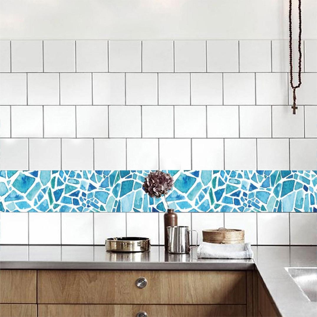 WensLTD_ Clearance! 20x50cm Adhesive Tile Art Floor Wall Decal ...