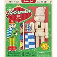 Master Pieces Holiday Wood Paint Kit - Nutcracker Elf