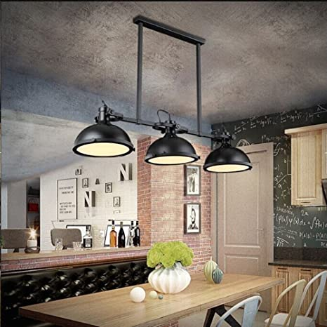 JINGUO Lighting Industrial Lights Pendant Light Chandelier - Industrial style pool table