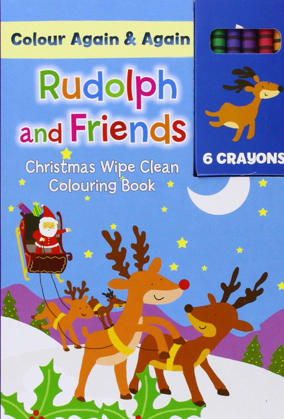Download Christmas Colour Me Again & Again - Rudolph & Friends: Colouring & Activity ebook