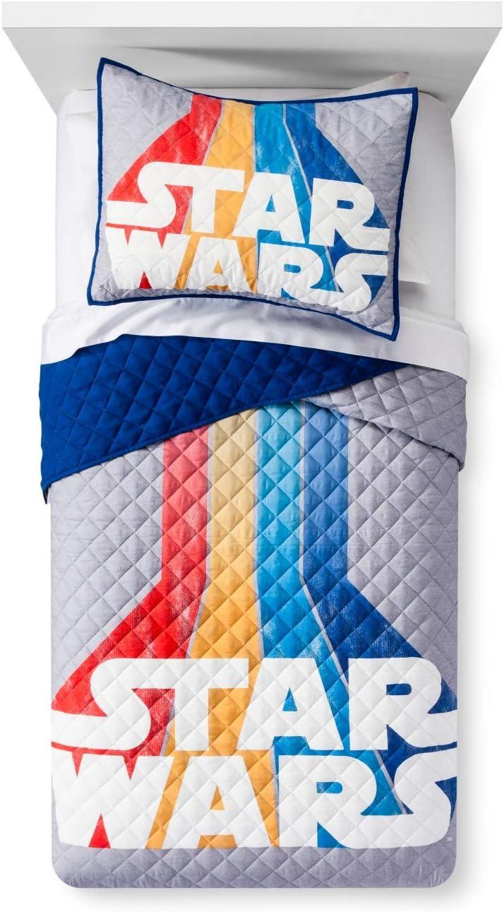 Star Wars Logo Quilt Set Logo Quilt Set Twin