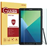 Samsung Galaxy Tab A 10.1 S pen Version Glass Screen Protector, OMOTON 0.26mm Tempered-Glass Protector with [9H Hardness] [Crystal Clear] [Scratch-Resistant] [Bubble Free Easy Installation]