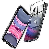 Spigen Apple iPhone 11 Kılıf Liquid Crystal / Crystal Clear 4 Tarafı Tam Koruma - 076CS27179
