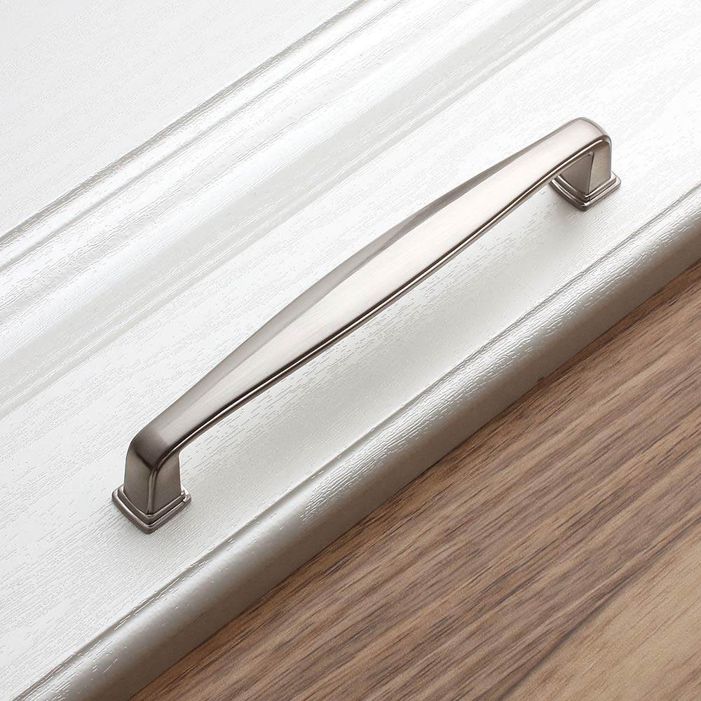 Oil Rubbed Bronze Pull Handle Bathroom Wardrobe Hardware Bedroom Dresser Drawer 31mm // 1.2 Inch 10-Pack for Kitchen Cupboard Door Koofizo Stepped Square Cabinet Knob