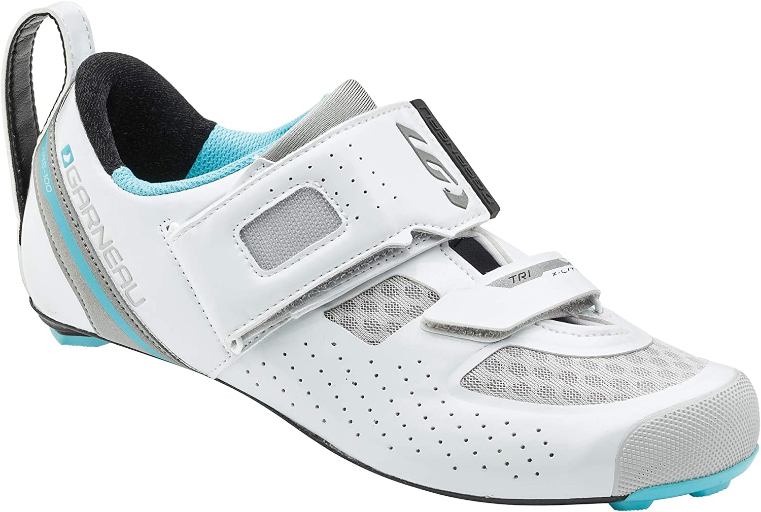 Louis Garneau Women s Tri X-Lite 2 Lightweight Triathlon Transition Bike Shoes