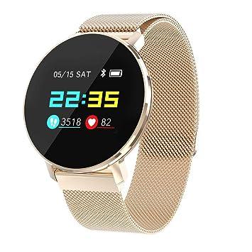 Webla T5 - Reloj inteligente para hombre y mujer, oxígeno, tensiómetro, monitor de frecuencia cardíaca, pulsera inteligente, oro rosa: Amazon.es: Bricolaje ...