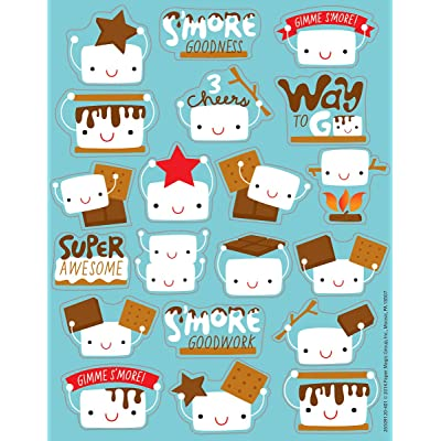 Eureka Marshmallow Stickers, Scented (650912): Office Products