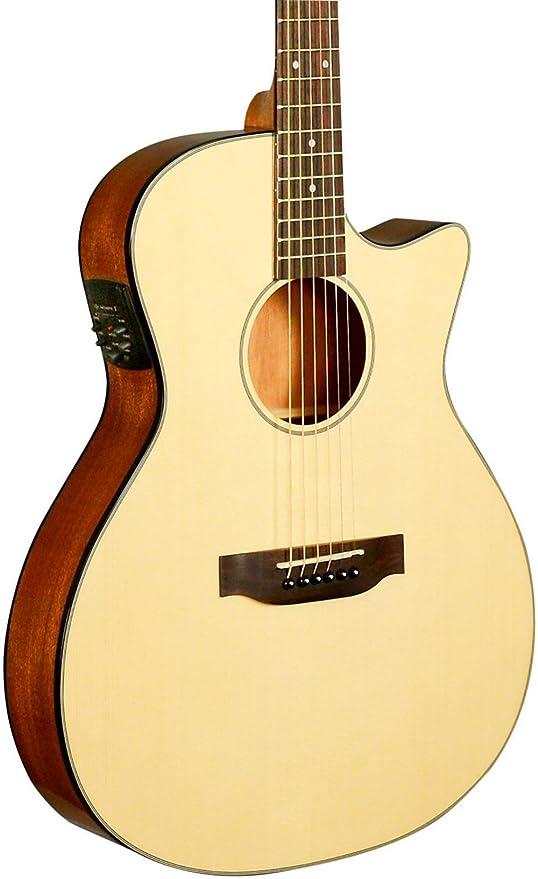 Kala ka-gtr-mtn-e Thinline (cuerdas de nailon guitarra ...