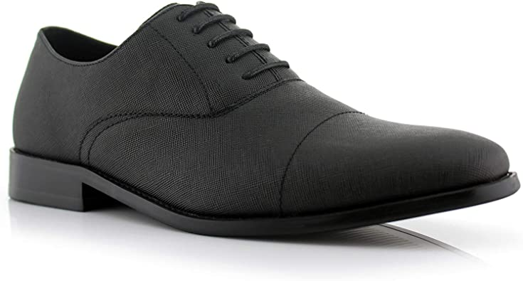 vegan leather mens shoes