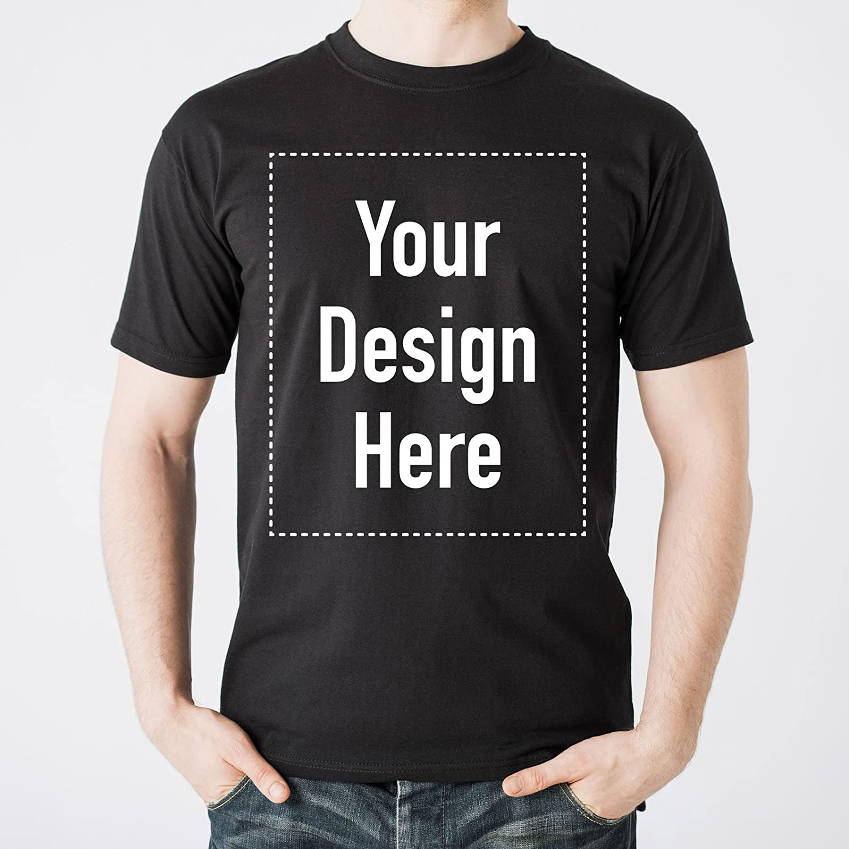Amazon 100 Cotton Full Color Gildan Tee Custom T Shirt