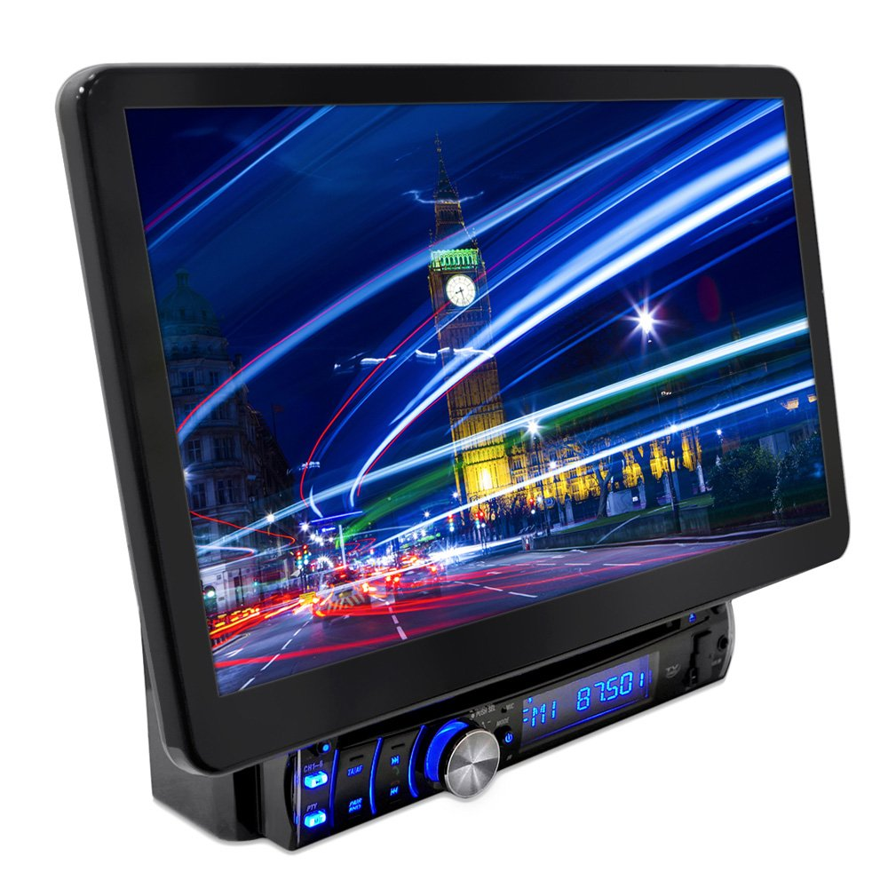 Amazon.com: Pyle PLSD131BT Bluetooth 13.1-Inch Hi-Res Touch Screen  Multimedia Receiver Head-Unit, Motorized and Detachable Display: Car  Electronics