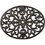 Oval Vintage Style Cast Iron Trivet