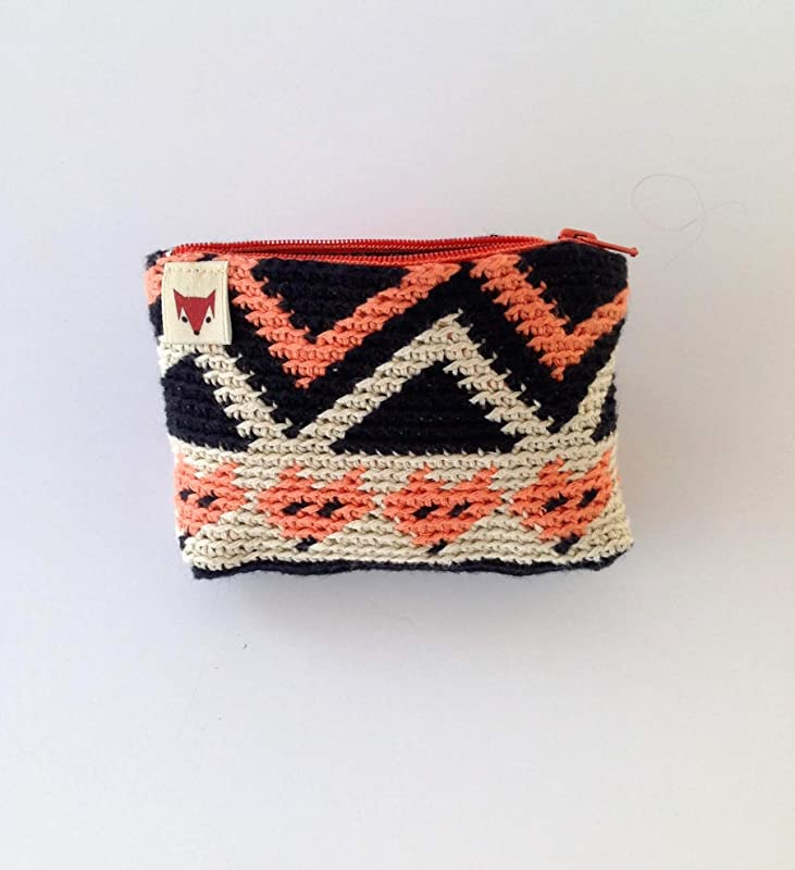 monedero pequeño de ganchillo: Amazon.es: Handmade