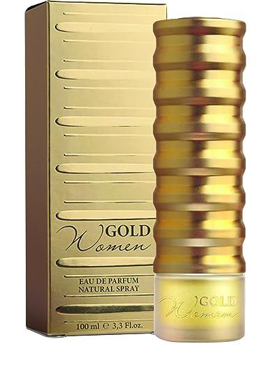 Amazoncom New Brand Awgoldnb34s 33 Oz Gold Eau De Parfum Spray