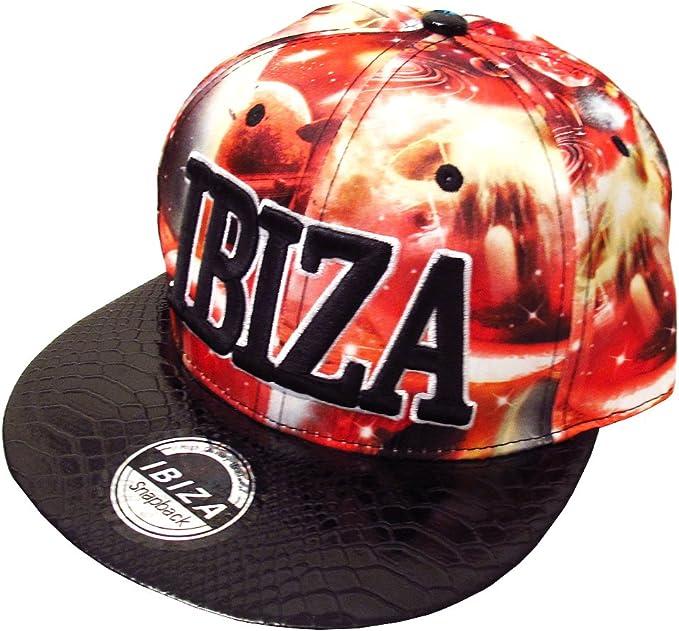 Love Ibiza: Planetas Rojos Gorra Snapback - Rojo, Talla única ...