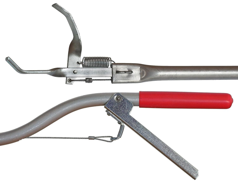 Abfallgreifzange 3ab - 200 cm lang, aus Aluminium (von 96cm bis 200cm)
