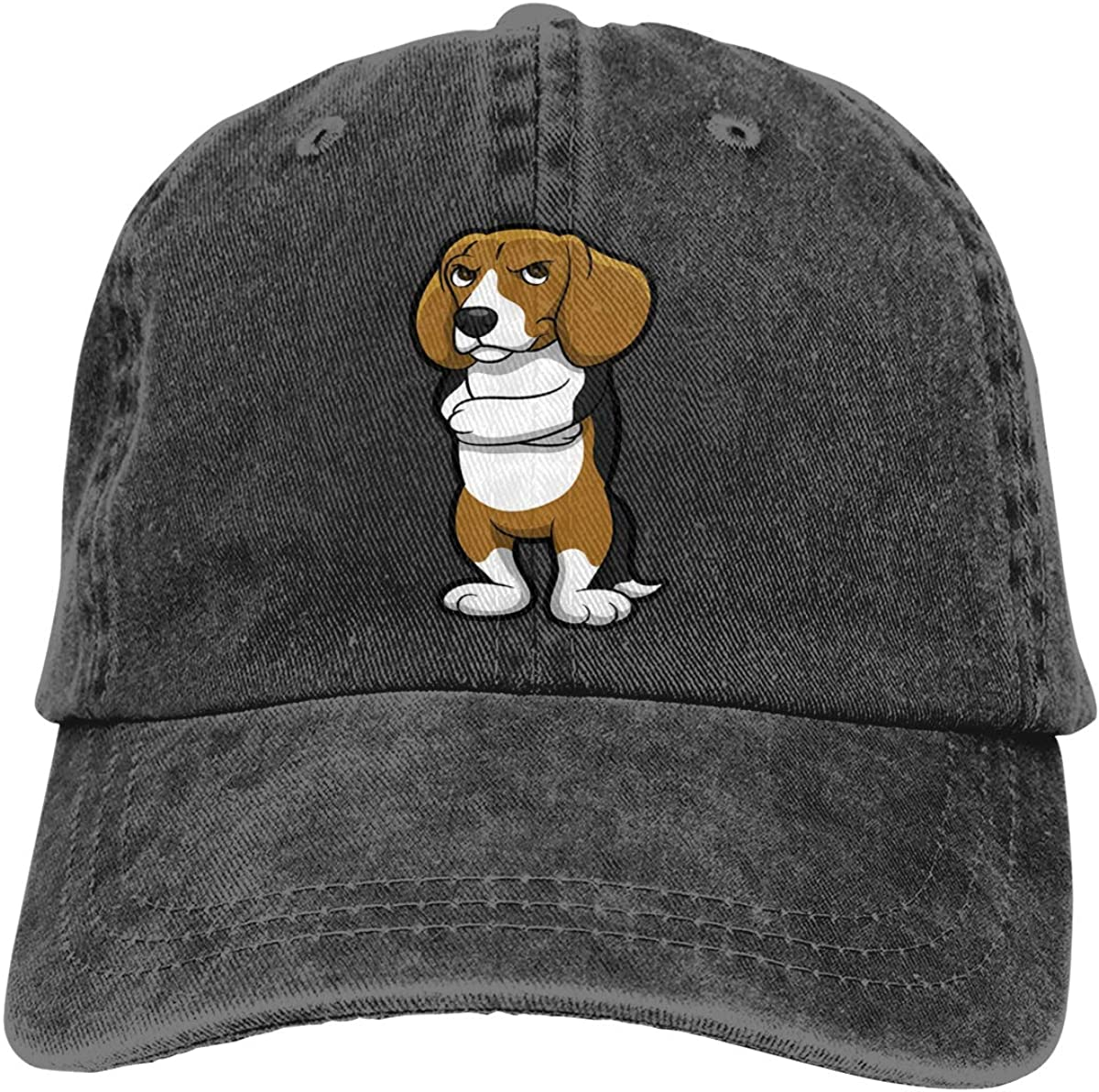 GAOFEIhat Beagle Unisex Adult Denim Hats Cowboy Hat Dad Hat Driver Cap