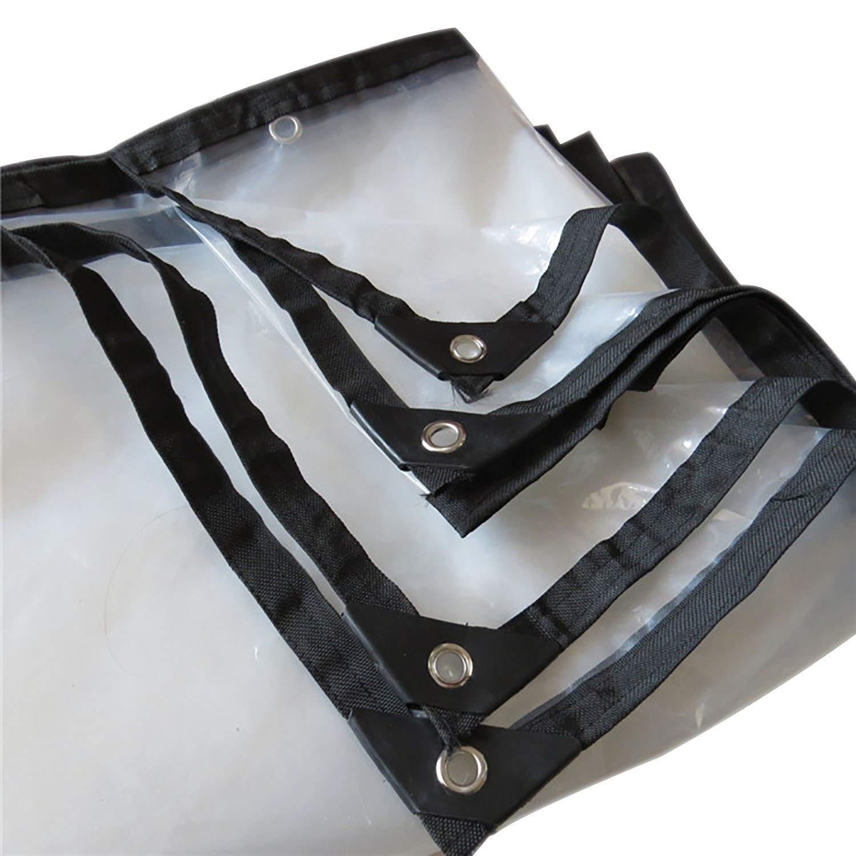 防雨防水シート グロメット、屋根のテラスのための透明な証拠の防水シートの植物カバー補強された端が付いている明確な防水シートのパーゴラカバー防水シート (Color : Clear, Size : 15x24ft/5x8m) B07SQVJPHC Clear 15x24ft/5x8m