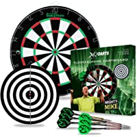 Dartboard - Dart - Dartscheibe mit 2 Spielflächen grün