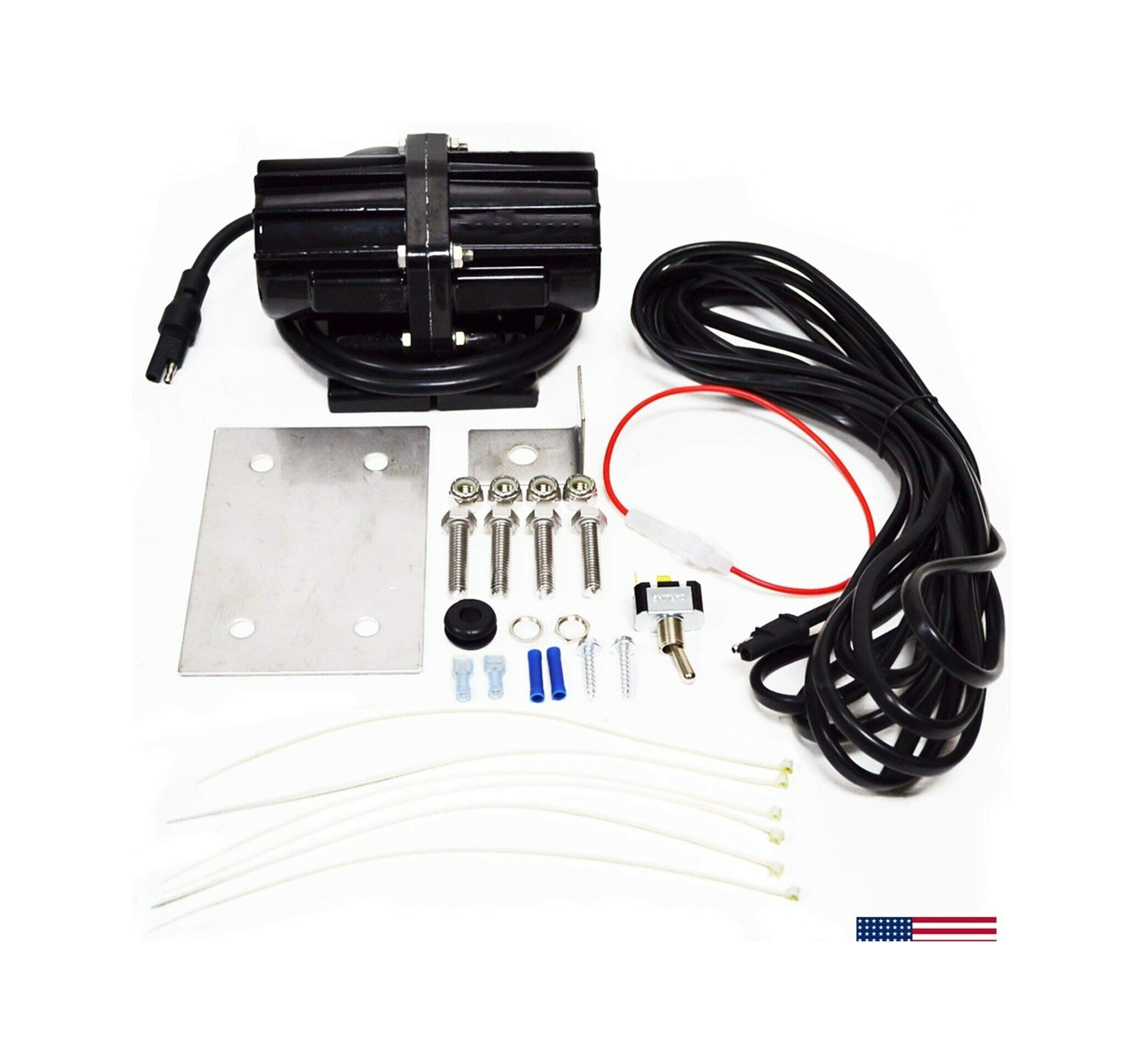 Salt Spreader V-Box Vibrator Kit 200 Lb Western Snow-Ex Trynex Meyer Buyers by LMParts