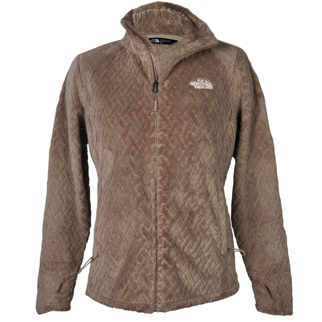 The North Face Women's Novelty Osito Jacket Does Skin Brown Basket Weave Size Medium