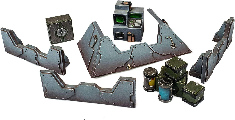WWG Industry of War 2 x Computer Terminal 28mm Wargaming Terrain Model