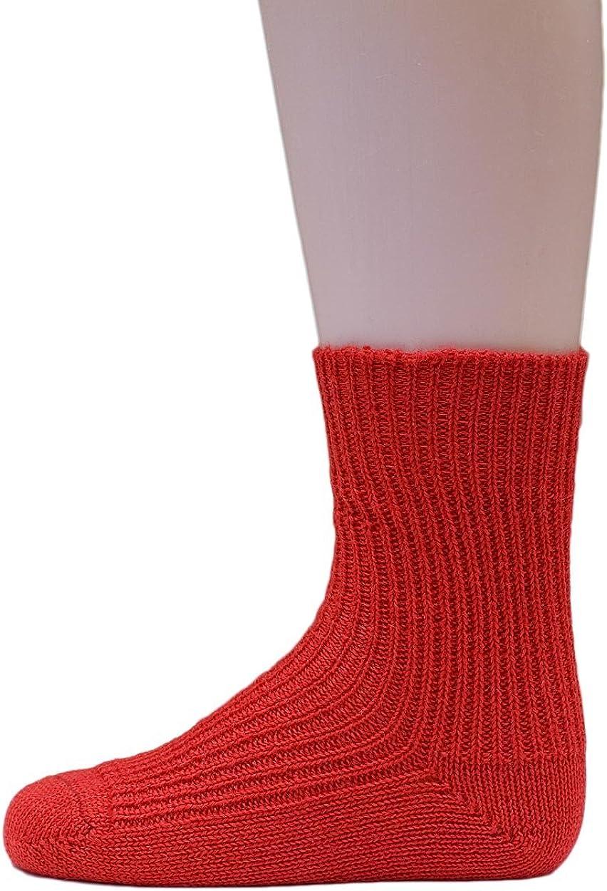 da allevamenti biologici controllati calze di filato grosso in 100/% lana vergine biologica per neonati e bambini Hirsch Natur