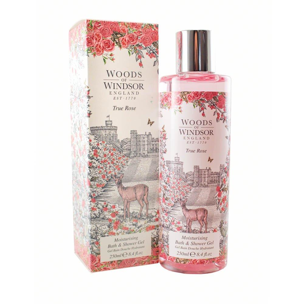 Woods Of Windsor True Rose Moisturizing Bath & Shower Gel for Women, 8.4 fl. Oz. W150031-6