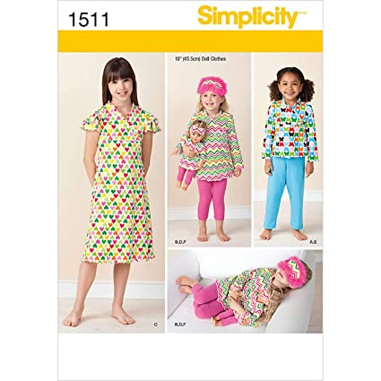 0c795ed2705 Image Unavailable. Image not available for. Color: Simplicity Creative  Patterns 1511 Child ...